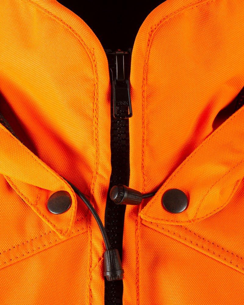 Giacca Fluo Arancione Dettaglio-3
