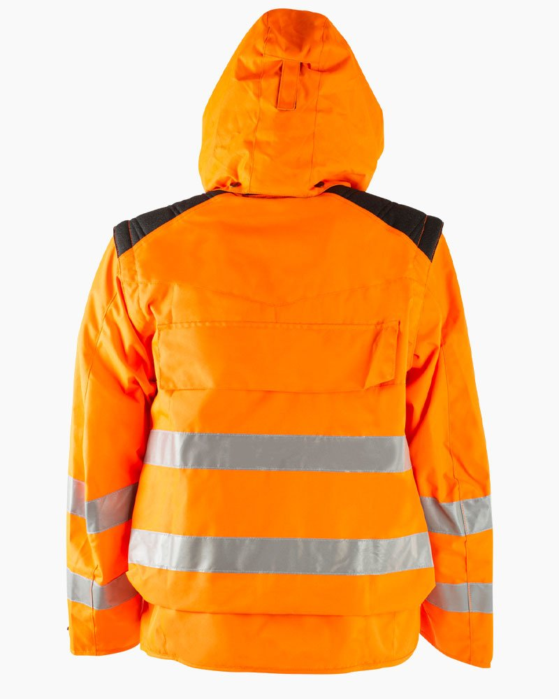 Giacca Fluo Arancione Retro