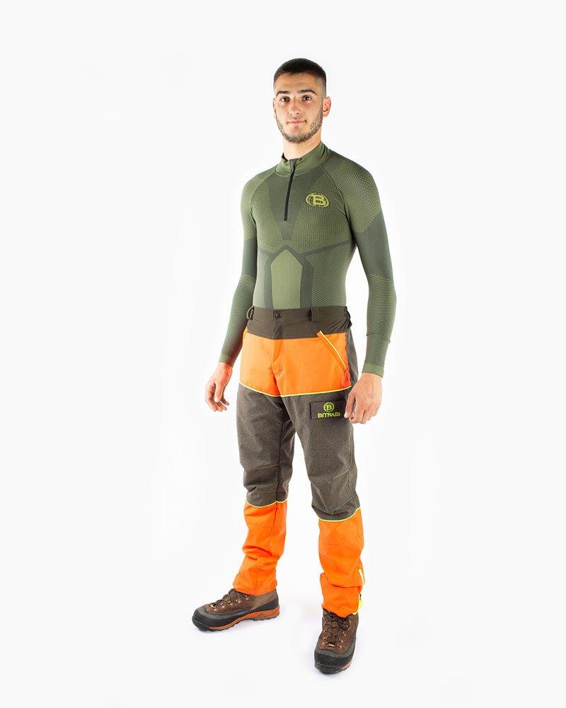 Kevlar Orange Pantaloni-Dettaglio